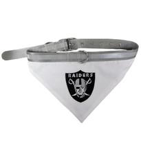 Oakland Raiders Bandana Dog Collar