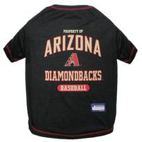 Arizona Diamondbacks Tee Shirt For Dogs