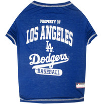 Los Angeles Dodgers Tee Shirt For Dogs