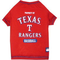 Texas Rangers Tee Shirt For Dogs