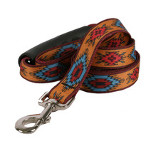 Indian Spirit Orange EZ-Grip Dog Leash