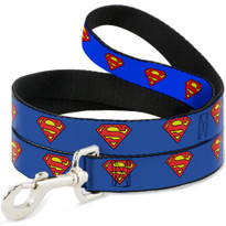 Superman Buckle Down Dog Leash
