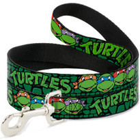Classic Teenage Mutant Ninja Turtles TMNT Logo Buckle Down Dog Leash