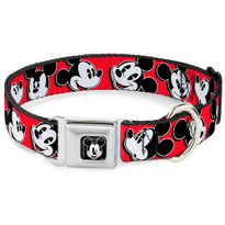 Mickey Mouse  Buckle-Down Seat Belt Buckle Dog Collar