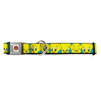 Looney Tunes Tweety Bird Buckle-Down Seat Belt Buckle Dog Collar