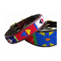 Primary Beaded Kenyan Dog Collar