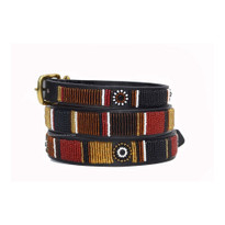 Topi Beaded Kenyan Dog Collar