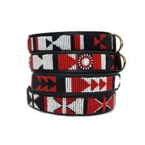 The Shield Beaded Kenyan Dog Collar