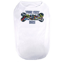 Personalized Crazy Bones Pet T-Shirt