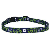 12th Dog Navy Blue Dog Collar