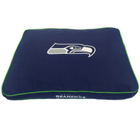 Seattle Seahawks NFL Football RECTANGULAR Dog Bed