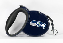 Seattle Seahawks Retractable Dog Leash