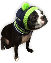 Seattle Seahawks NFL Knit Hat For Dogs