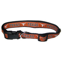 Texas Longhorns Dog Collar