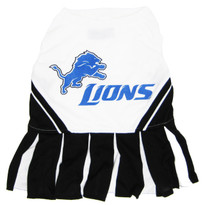 Detroit Lions NFL Football Pet Cheerleader Outfit
