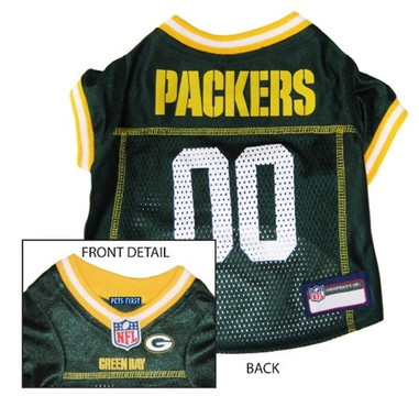more photos 5a05d 4fec1 Green Bay Packers NFL Football ULTRA Pet Jersey