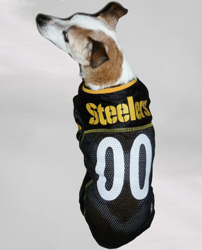 ac36aee9f29 Pittsburgh Steelers NFL Football ULTRA Pet Jersey · steelers dog jersey.  Buy with confidence because we've got your covered with our amazing