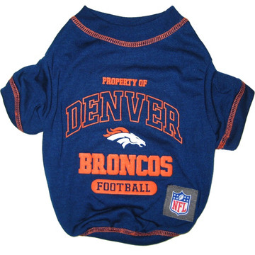 Denver Broncos NFL Football Pet T-Shirt