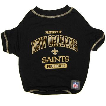 New Orleans Saints NFL Football Pet T-Shirt