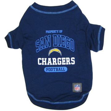 03014f5d Los Angeles Chargers NFL Football Pet T-Shirt
