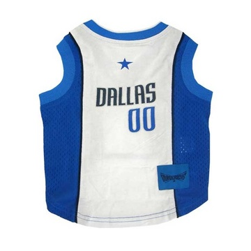 Dallas Mavericks Mesh Pet Jersey