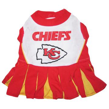 new style 1b788 67d9e Kansas City Chiefs NFL Football Pet Cheerleader Outfit