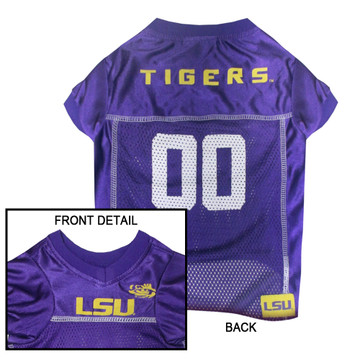 LSU Tigers Dog JERSEY