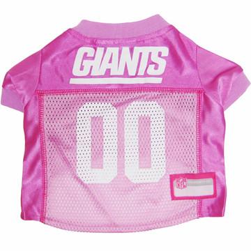N.Y. Giants PINK NFL Football Pet Jersey