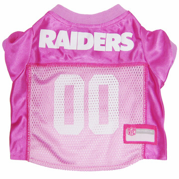 d9d9239c1 Oakland Raiders Pink Nfl Football Pet Jersey At HotDogCollars.com!