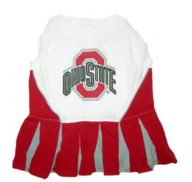new product 375bc cf2e7 Ohio State Buckeyes Dog Cheerleader Outfit