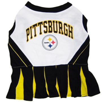 fd4dcf5d1 Pittsburgh Steelers Nfl Football Pet Cheerleader Outfit At ...