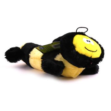 Plush Bumble Bee Large Squeaker Dog Toy Hot Dog Collars