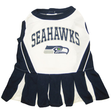 Seattle Seahawks Nfl Football Pet Cheerleader Outfit At ... 8c27d3803