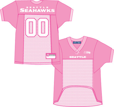 d5f7bfad261 ... Seattle Seahawks PINK NFL Football Pet Jersey. Buy with confidence  because we've got your covered with our amazing