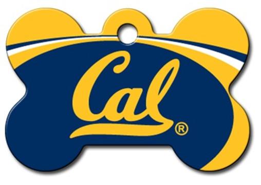 California Bears Engraved Pet ID Tag