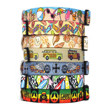 At the Beach - Personalized Dog Collar
