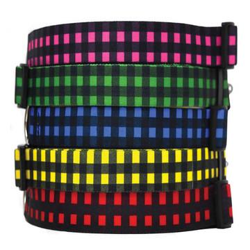 Buffalo Plaid - Personalized Dog Collar