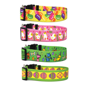 Easter Parade - Personalized Dog Collar