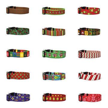 Christmas Cheer - Personalized Dog Collar
