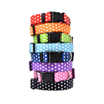 Small Polka Dots - Personalized Dog Collar