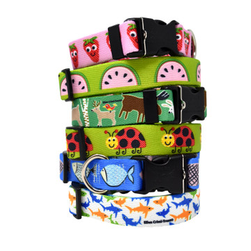 Summer Collection by Ellen Crimi Trent - Personalized Dog Collar