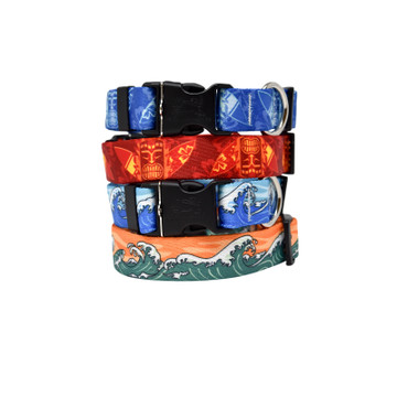 Surfing - Personalized Dog Collar