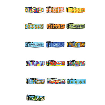 Tropical Island - Personalized Dog Collar