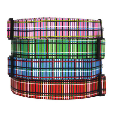 Tartan - Personalized Martingale Pet Collar