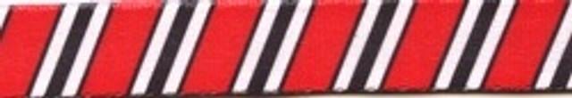 Team Spirit Red, Black and White EZ-Grip Dog Leash