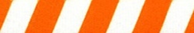 Team Spirit Orange and White EZ-Grip Dog Leash