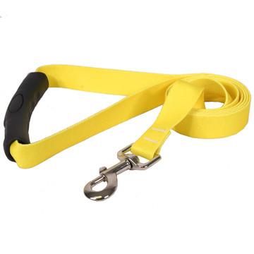 Solid Yellow EZ-Grip Dog Leash