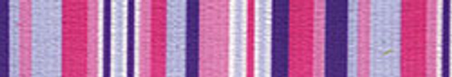 Purple and Pink Stripes EZ-Grip Dog Leash