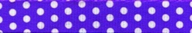New Purple Polka Dot EZ-Grip Dog Leash
