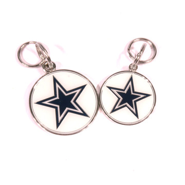Dallas Cowboys NFL Dog Tags With Custom Engraving At HotDogCollars.com e93f50ffb